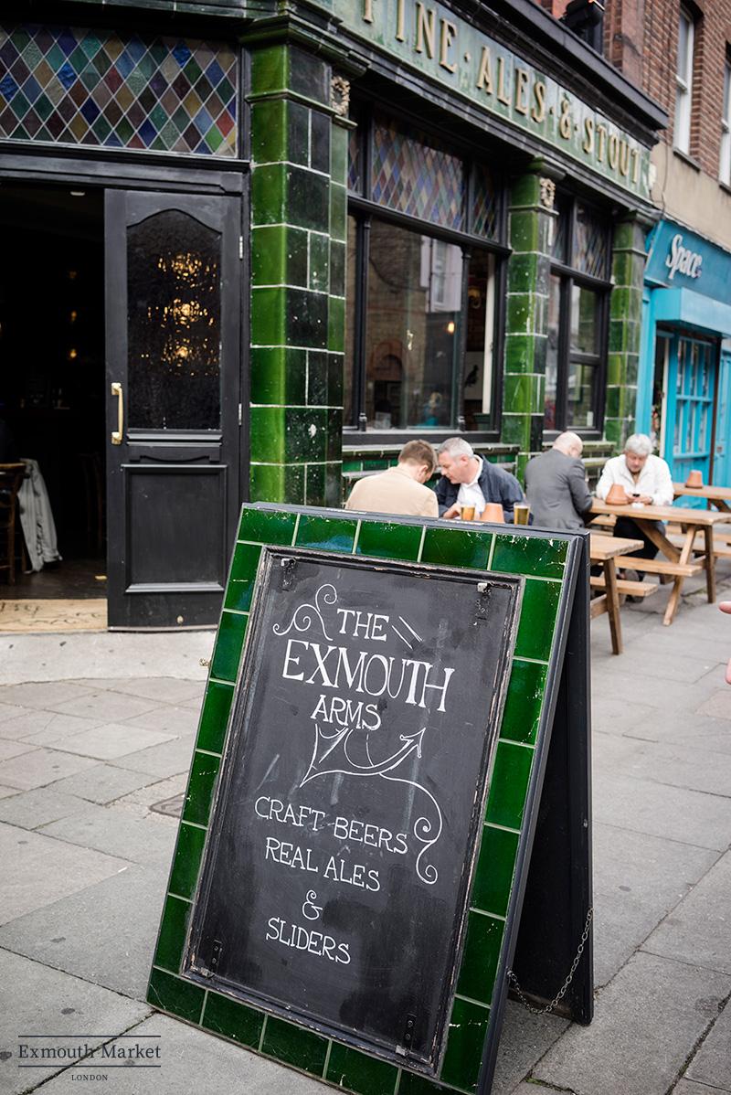Exmouth Arms, 23 Exmouth Market, London EC1R 4QL