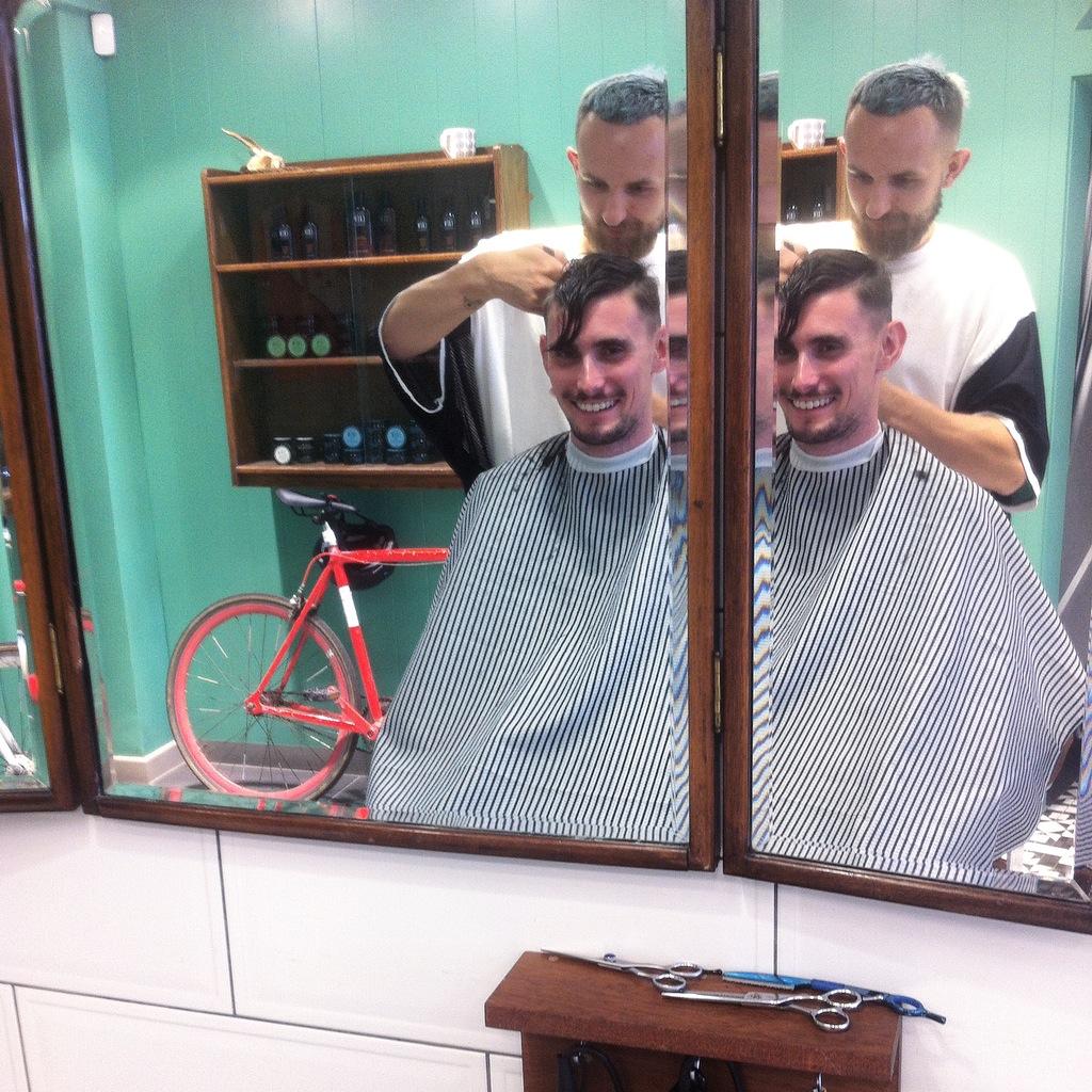 Barber Streisand, 45 Exmouth Market, London EC1R 4QL